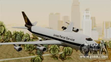 Boeing 747-100 UPS Old for GTA San Andreas