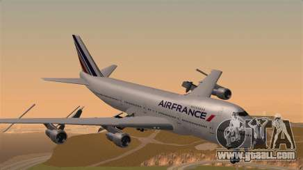 Boeing 747 Air France for GTA San Andreas