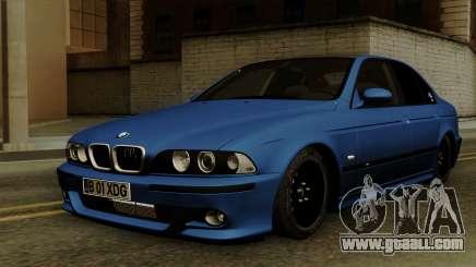 BMW M5 E39 Bucharest for GTA San Andreas