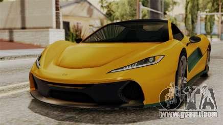 GTA 5 Progen T20 IVF for GTA San Andreas