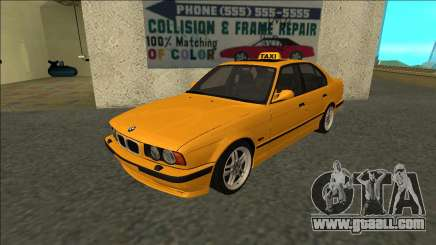 BMW M5 E34 Taxi for GTA San Andreas