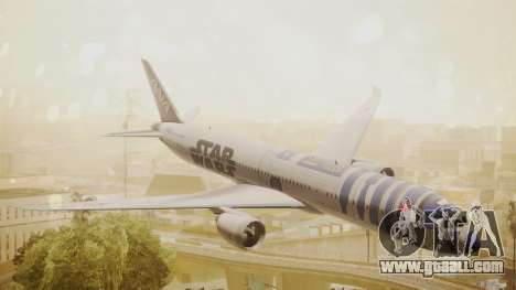 Boeing 787-9 ANA R2D2 for GTA San Andreas