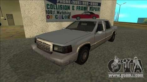 Stretch Sedan for GTA San Andreas