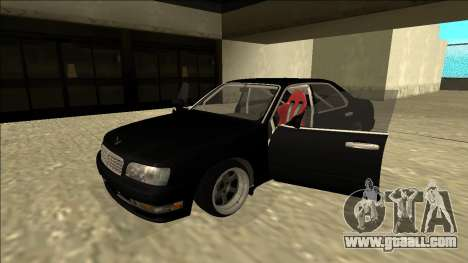 Nissan Cedric Drift for GTA San Andreas back view