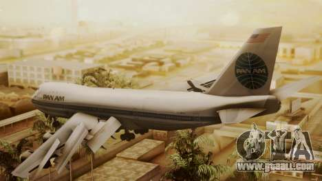 Boeing 747-100 Pan Am Clipper Maid of the Seas for GTA San Andreas left view