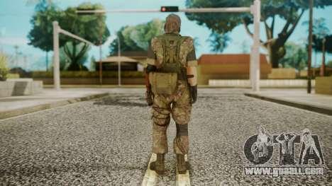 Venom Snake Woodland for GTA San Andreas third screenshot
