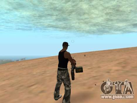 M249 for GTA San Andreas third screenshot