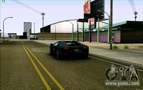 Lamborghini Aventador LP-700 Razer Gaming for GTA San Andreas side view