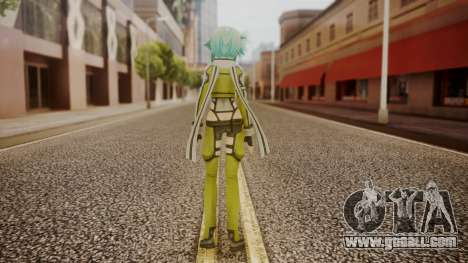 Sinon GGO for GTA San Andreas third screenshot