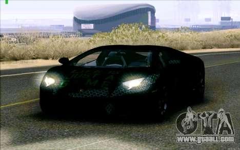 Lamborghini Aventador LP-700 Razer Gaming for GTA San Andreas left view
