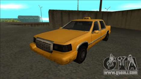 Stretch Sedan Taxi for GTA San Andreas back left view