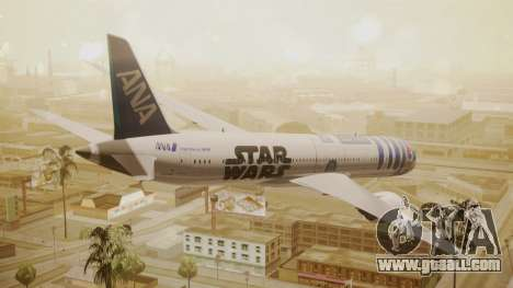 Boeing 787-9 ANA R2D2 for GTA San Andreas left view