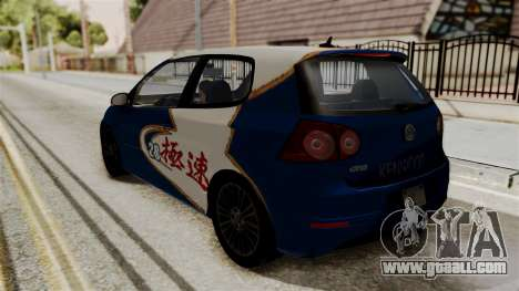 Volkswagen Golf R32 NFSMW05 Sonny PJ for GTA San Andreas inner view