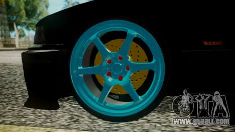 BMW M3 E36 Happy Drift Friends for GTA San Andreas back left view