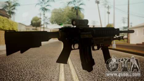 M4 with M26 Mass for GTA San Andreas second screenshot