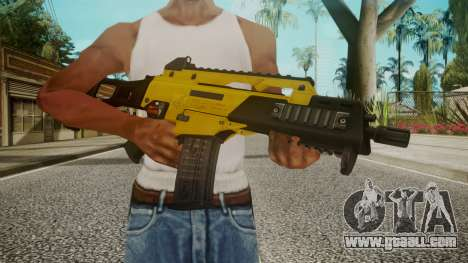 G36C Gold for GTA San Andreas