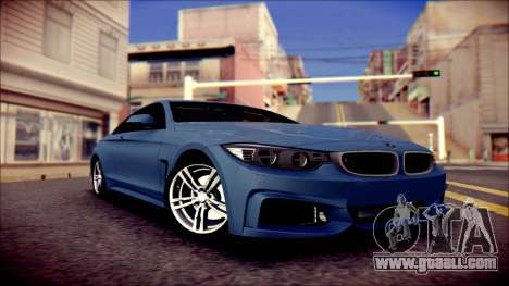 BMW 4 Series Coupe M Sport for GTA San Andreas