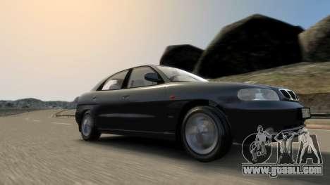 Daewoo Nubira I Hatchback CDX 1997 for GTA 4 bottom view