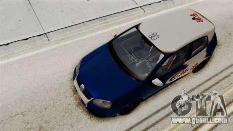 Volkswagen Golf R32 NFSMW05 Sonny PJ for GTA San Andreas side view