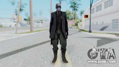 SkullFace Mask for GTA San Andreas second screenshot