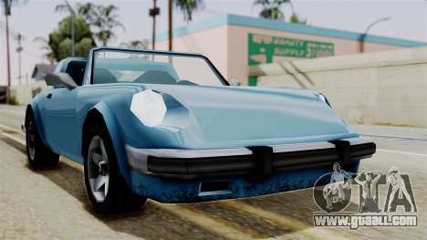 Comet from Vice City Stories for GTA San Andreas right view