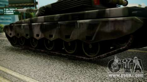 Type 99 from Mercenaries 2 for GTA San Andreas back left view