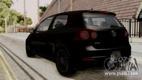 Volkswagen Golf R32 NFSMW05 Sonny PJ for GTA San Andreas left view
