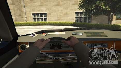 GTA 5 GAZ-24 back view