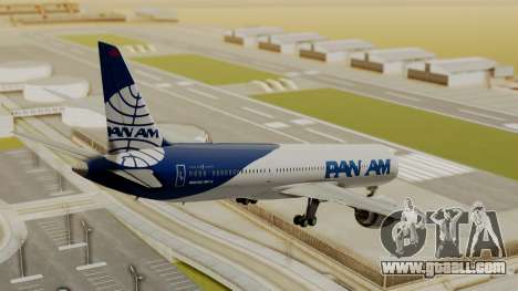Boeing 787-9 Pan AM for GTA San Andreas left view