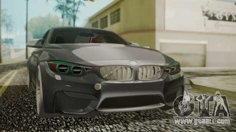BMW M4 Coupe 2015 Carbon for GTA San Andreas