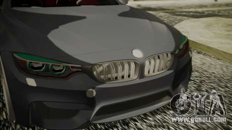 BMW M4 Coupe 2015 Carbon for GTA San Andreas right view