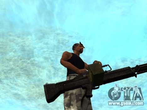 M249 for GTA San Andreas forth screenshot