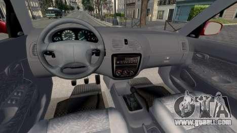 Daewoo Nubira I Hatchback CDX 1997 for GTA 4 back view
