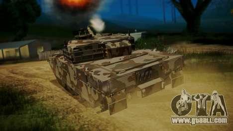 GTA 5 Rhino Tank for GTA San Andreas left view