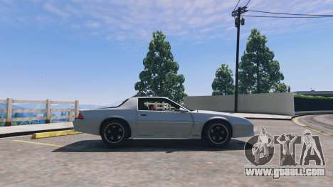 GTA 5 Chevrolet Camaro IROC-Z [BETA] left side view