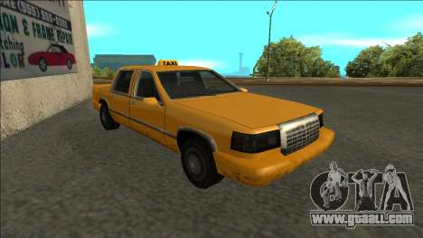 Stretch Sedan Taxi for GTA San Andreas left view