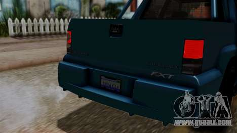 Syndicate Criminal (Cavalcade FXT) from SR3 for GTA San Andreas right view