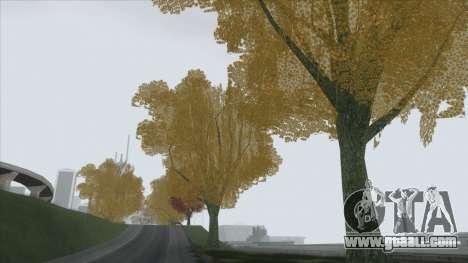 Autumn in SA v2 for GTA San Andreas forth screenshot