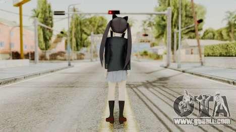 K - ON Remake Asuza Nakano for GTA San Andreas third screenshot