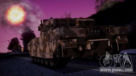 GTA 5 Rhino Tank IVF for GTA San Andreas left view