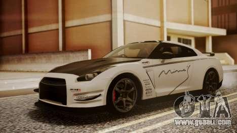 Nissan GT-R R35 2012 v2 for GTA San Andreas