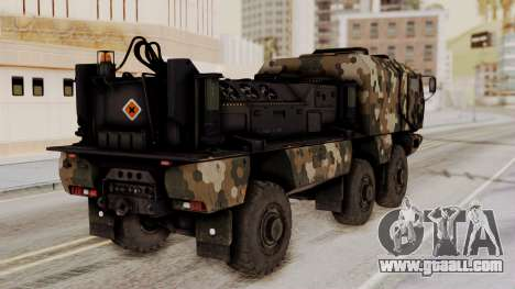 Tempest (device) for GTA San Andreas left view