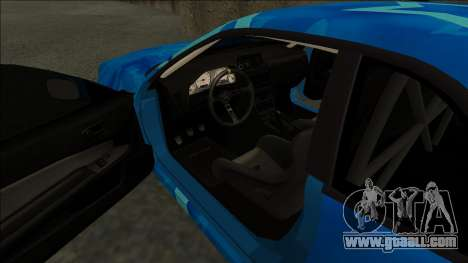 Nissan Skyline R34 Drift Blue Star for GTA San Andreas right view