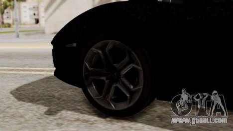 Lamborghini Aventador LP-700 Razer Gaming for GTA San Andreas back left view