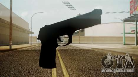 Beretta M9 Battlefield 3 for GTA San Andreas