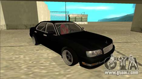 Nissan Cedric Drift for GTA San Andreas left view
