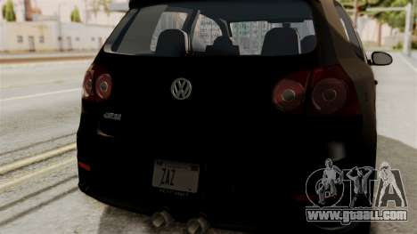 Volkswagen Golf R32 NFSMW05 Sonny PJ for GTA San Andreas right view