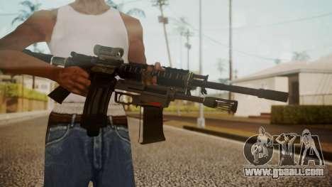 M4 with M26 Mass for GTA San Andreas third screenshot