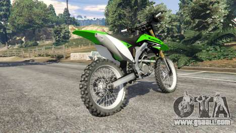 Kawasaki KX450F for GTA 5