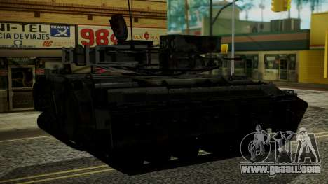 VD-1710 Armadillo APC Camo for GTA San Andreas left view